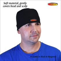 Thermoflow HE-01 Head Cap, Black/White, One Size (Thermoflow HE-01)