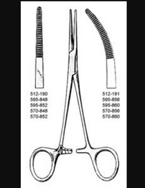 635-570-848 FORCEPS KELLY 5.5in STR