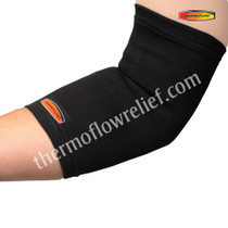 Thermoflow EB Elbow Band, Black/White, One Size