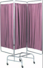 SCREEN PRIVACY MOBILE KING SIZE 3 SECTION 73.75 x 32in w/o CURTAIN 972-153961