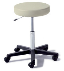 STOOL PHYSICIAN AIR LIFT 5-CASTER** BLK BASE/DUSTY BLUE UPH 144-272-001-233