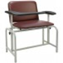 CHAIR BLOOD DRAWING PADDED VINYL BACK/SEAT FLIP-UP ARM BLUERIDGE UPH 554-2573-17