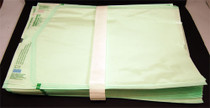 164-S16 POUCH AUTOCLAVE FLAT CLEAR 10 x && 15in STERIKING PK/100 S16-3P