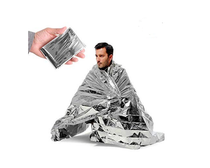 "EMERGENCY THERMAL BLANKET Reflective, Waterproof Thermal Blanket 82"" x 55""(14237)"