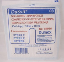 DUP 84916 TRACH DRESSINGS - TRAY OF 25 (DUP 84916)