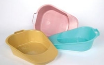 BEDPAN FRACTURE DISP TURQUOISE CA/50 193-H100-07