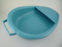 BEDPAN FRACTURE AUTOCLAVABLE LARGE BLUE w/ HANDLE 193-00083