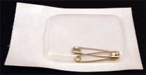 PIN SAFETY STERILE MEDIUM 1.5in PK/2 CA/100PK 347-30-091