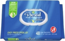 WIPE WET PREVAIL 12x8in FRAGRANCE && FREE PK/48 740-WW-810-X