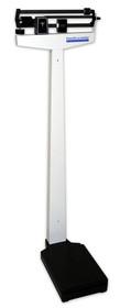 Healthometer 450KL SCALE FLOOR BALANCE BEAM CLASSIC w/ HT ROD 500lb/227kg White notes