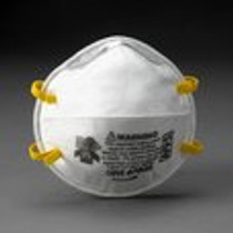 3M-7048 MASK FACE RESPIRATOR N-95 Regular CONE Molded White BX/20 (3M-7048)