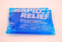 "Rapid Aid 12246 RAPID RELIEF GEL PACK COLD/HOT 4""X6"", Each"