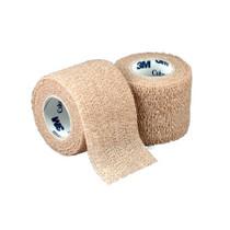 """3M-1582K Coban Self-Adherent elastic bandage COBAN 2"""" x 5 yards SKINTONE Roll"""