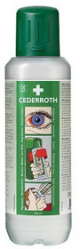 CEDERROTH STERILE EYEWASH SOLUTION 500ml - ONE TIME USE Bottle (A5-7251A)