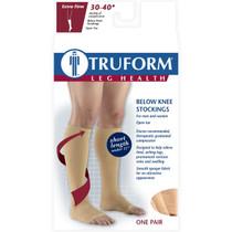 TRUFORM 0845BG Compression 30-40mmHg Below-knee, Open-toe, beige S-M-L-XL (0845BG)