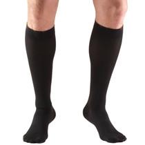 TRUFORM 8845BL Compression 30-40mmHg Below-knee, Closed-toe, black 2XL-3XL