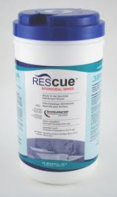 "Accel ACCRESW-1 Rescue Wipes 8""x9"" 160/tube"