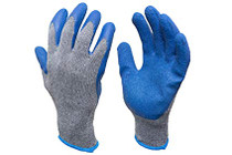 Rubber Palmed Fitting Gloves, pair (0757) (S-M-L-XL) (757)