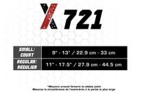 CSX X721 SPORTS BRACING tennis elbow strap, black SM-REG (X721)