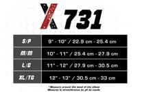 CSX X731 SPORTS BRACING elbow support, black S-M-L-XL (X731)