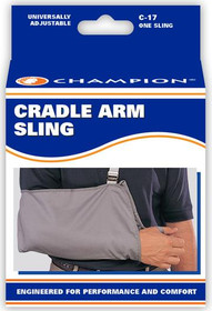 Champion 0017 Cradle Style Arm Sling, Adult, C-17