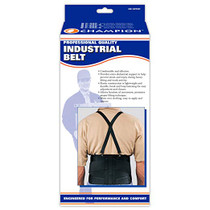 Champion C-207 Suspenders only for Industrial Belt - Black or White ONE SIZE (C-207) (Champion C-207)