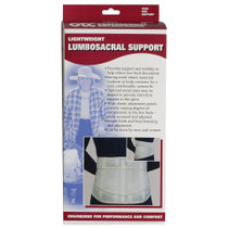 Lightweight Lumbo-Sacral Support S-M-L-XL (2884)