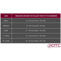 OTC 2689 Three-Panel Binder for Women XS-S-M-L-XL-2XL