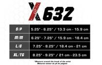 Champion X632L CSX wrist brace left, black