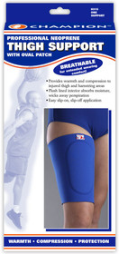 Champion C-315 Thigh Support w/oval patch,Royal Blue, S-M-L-XL