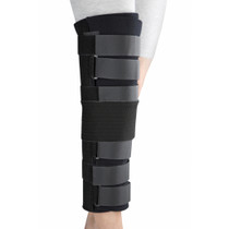 "Knee immobilizer, black (14""- 16""-19""-21""-24"" lengths) UNIVERSAL (9916) (9916)"