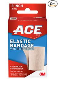 "Dukal 6123CS Elastic bandage, 3"" wide (pkg of 10)"