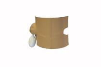 DryCorp DOS160 DRYPRO PICC Line Ostomy Protector, Medium (DryCorp DOS160)
