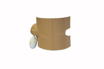 DRYPRO - PICC Line - Ostomy Protector Ostomy Protector Large (DOS180) (DryCorp DOS180)
