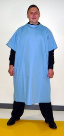Patient Gown cloth Unisize Blue (920-30000)
