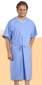 30000 Patient Gown cloth, Unisize,Blue