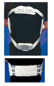 "Harris 0932 Men's Corset Fronts 9"" - 9½"",5 alternating buckles-8 eyelets, for 0950-P & 0949-P S-M-ML-L-XL (0932) (Harris 0932)"