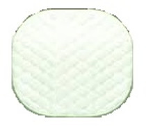 "Airway Surgical 240005 REUSABLE INCONTINENT Underpads 18"" x 18"""