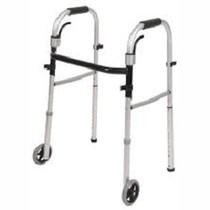 PCP 5068 FOLDING WALKERS Travel folding Walker w/4 legs & carry-on bag ADULT