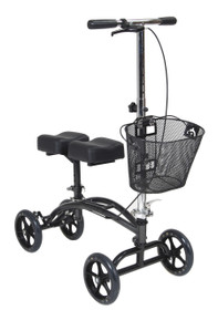 Dual Pad Steerable Knee Walker with Basket (796)
