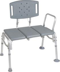 Drive 12025KD-1 Heavy Duty Bariatric Plastic Seat Transfer Bench