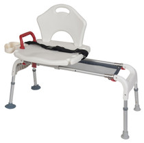 Drive Medical RTL12075 Folding Universal Sliding Transfer Bench
