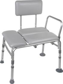 Drive Medical 12005KDR-1 Padded Transfer Bench