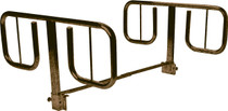 "Half Length ""T"" Style Bed Rails, 1 Pair (15021BV)"