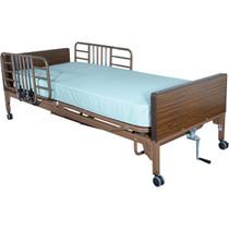 Drive 15208BV Tool Free Adjustable Half Length Bed Rail, 1 Pair