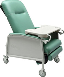 Drive Medical D574EW-J 3 Position Heavy Duty Bariatric Geri Chair Recliner, Jade (D574EW-J)