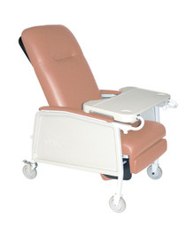3 Position Heavy Duty Bariatric Geri Chair Recliner, Rosewood (D574EW-R)