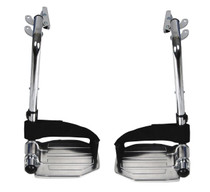 Drive Medical HDSF Front Rigging for Sentra Heavy Duty Wheelchair, Swing away Footrests, 1 Pair