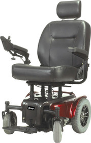 "Drive MEDALIST450RD22CS Medalist Heavy Duty Power Wheelchair, 22"" Seat, Red"