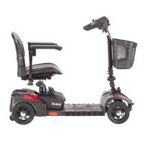 Drive Medical SFSCOUT4 Spitfire Scout Compact Travel Power Scooter, 4-Wheel